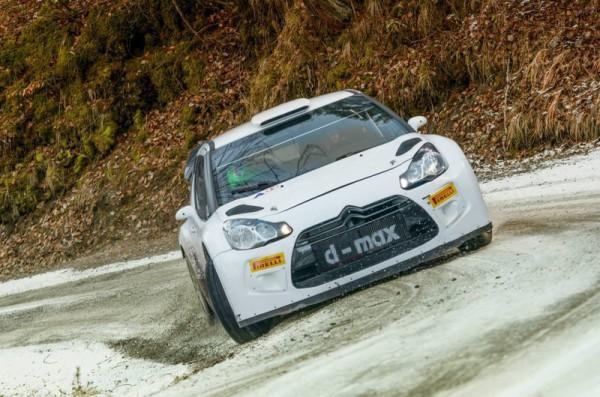 Протасов на тестах Citroen DS3 WRC
