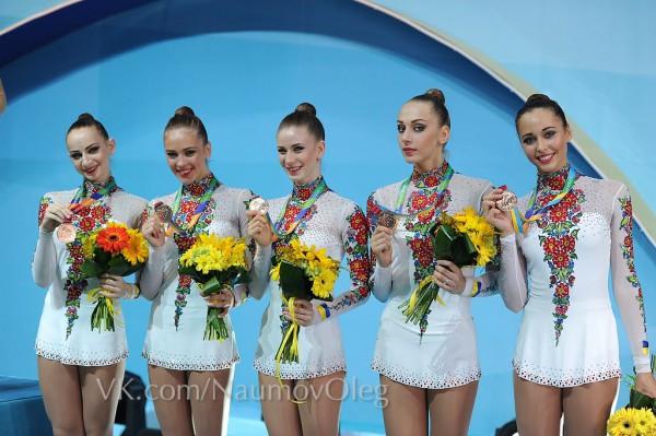 Сборная Украины выиграла бронзовую медаль