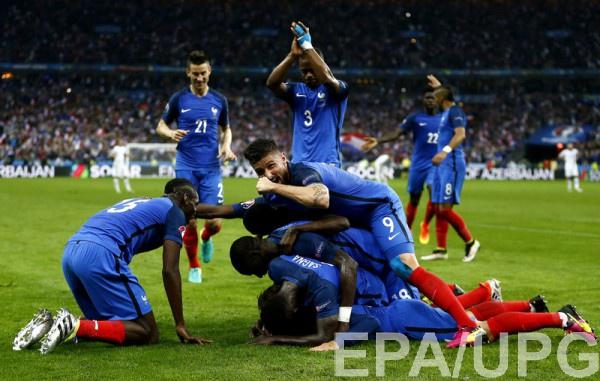 Cтатистика выступлений Франции на чемпионатах Европы