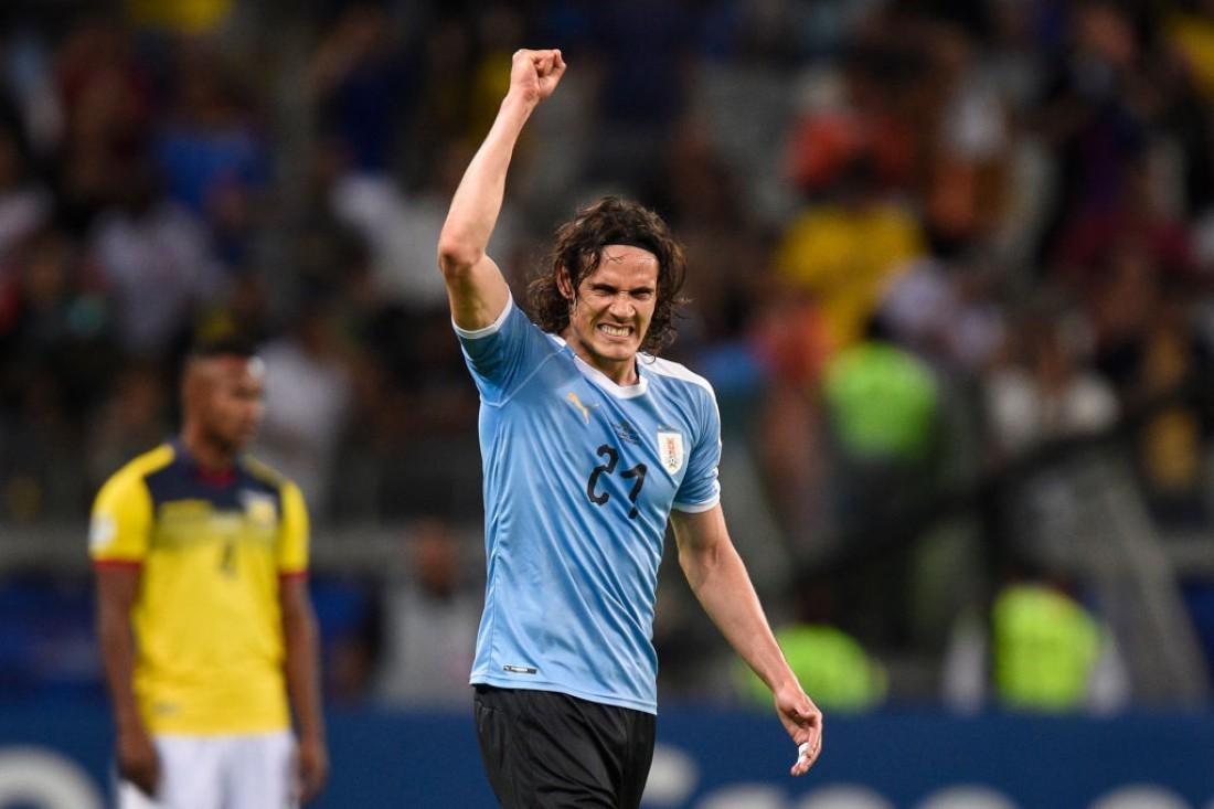 Сборная Уругвая разгромила Эквадор и возглавила группу С