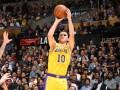 Михайлюк набрал 7 очков в матче НБА, но это не спасло Лейкерс от поражения