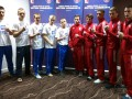 Украинские атаманы прошли процедуру взвешивания перед четвертьфиналом