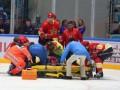 Хоккеист казахского Барыса на льду избил четырех китайцев