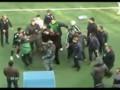 В интернете появилось видео жестокого избиения игрока Краснодара на матче в Грозном