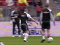 Футболист отправил в нокаут болельщика