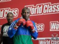 Боксер из Намибии одним ударом