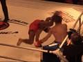 С ноги в голову: Видео брутального нокаута в боях без правил