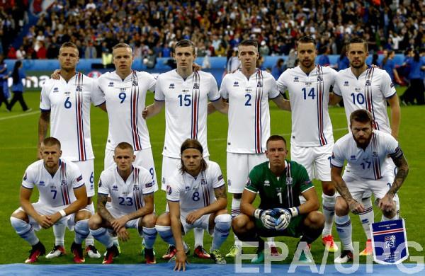 Сборная Исландии перед матчес с Францией