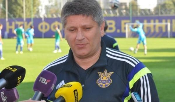 Тренер молодежной сборной украины