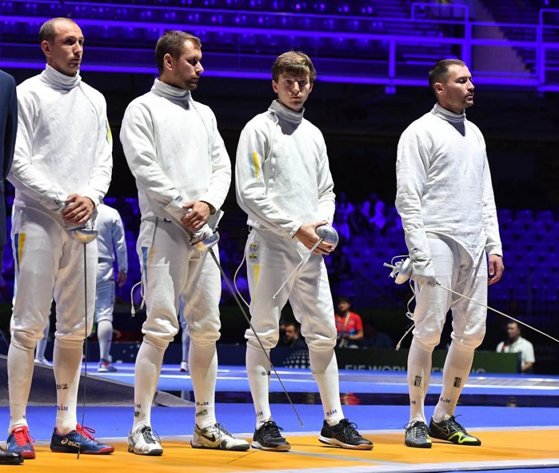 Мужская сборная Украины по фехтованию на шпагах