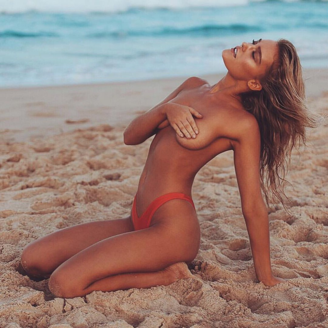 Австралийская модель Джорджия Гиббс