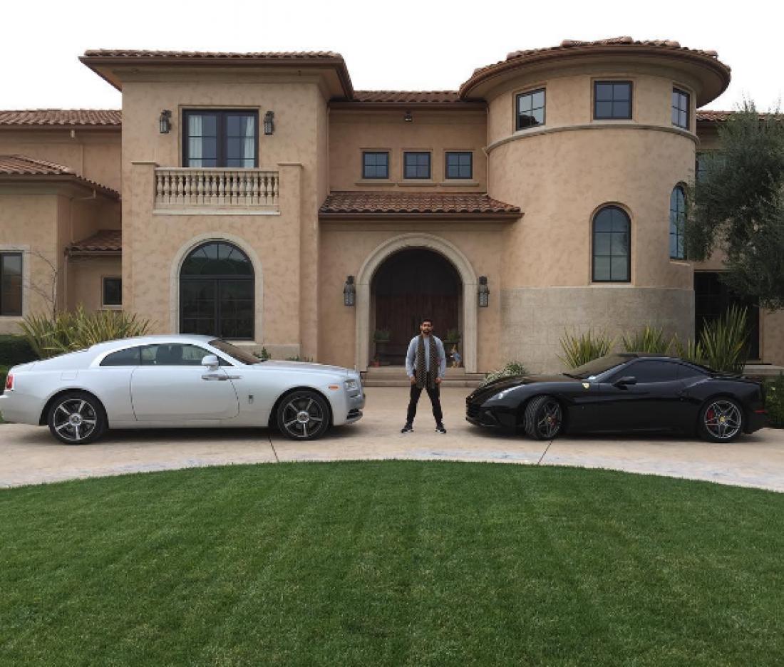 Амир Хан и его машины
