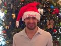 Капитан Динамо в шапке Санта-Клауса поздравил всех с Новым годом (ФОТО)