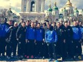 Бельгийские футболисты гуляли по Киеву под песню