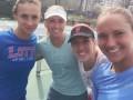 Теннисистки сборной Украины присмотрели себе лабутены