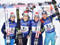 Украина - седьмая в медальном зачете чемпионата мира по биатлону