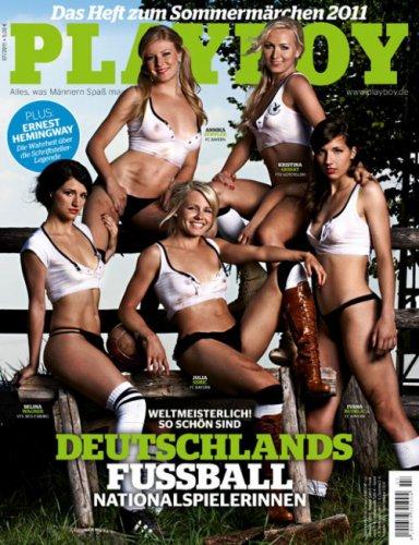 Немецкие футболистки плейбой