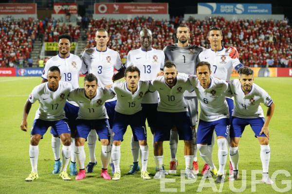 Участник Евро-2016 - сборная Португалии