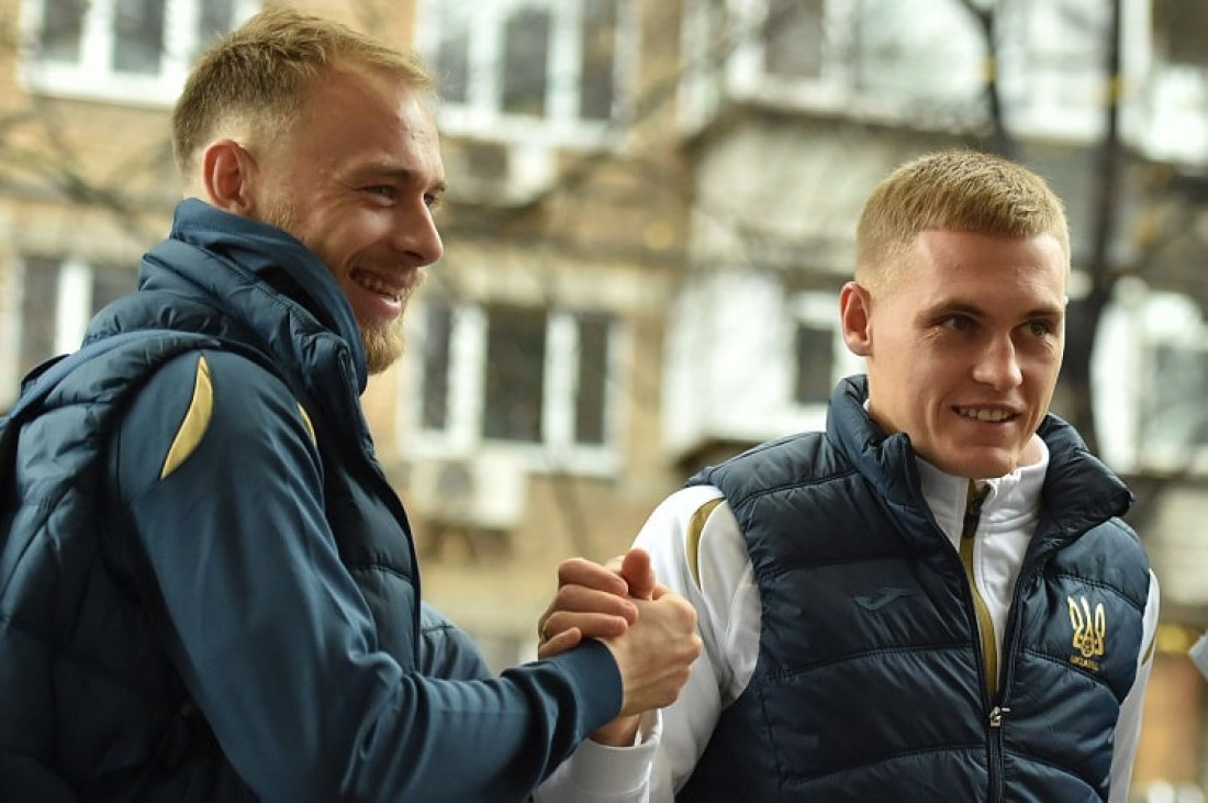 Сборная Украины начала ноябрьский сбор