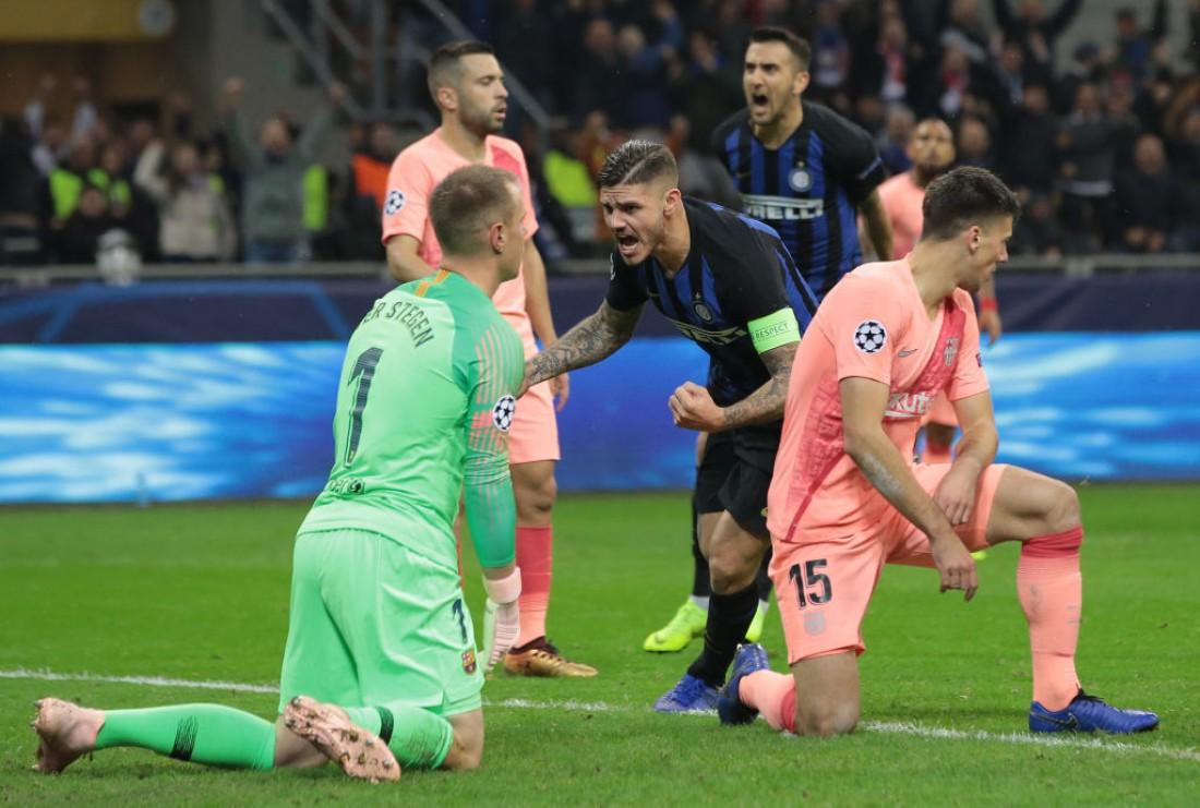 Барселона и Интер сильнейшего не выявили