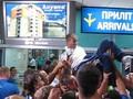 Триумфальное возвращение Динамо из Москвы