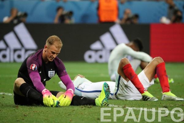 Сборная Англии покинула Евро-2016