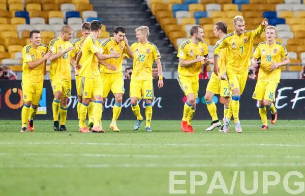 Сборная Украины сыграла в ничью с Исландией