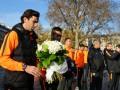 Шахтер почтил память жертв теракта в Париже