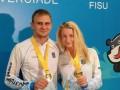 Горько: пара украинских прыгунов в воду создала семью