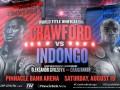 Кроуфорд – Индонго: где смотреть бой
