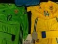 Стала известна игровая форма сборной Украины на матч против Германии