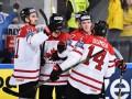 Канада добыла пятую победу кряду на чемпионате мира по хоккею