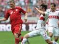 Бавария на последних секундах вырвала победу в матче со Штутгартом. Видео голов матча