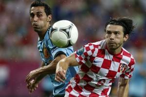Испания и Италия отцепляют Хорватию от Евро-2012