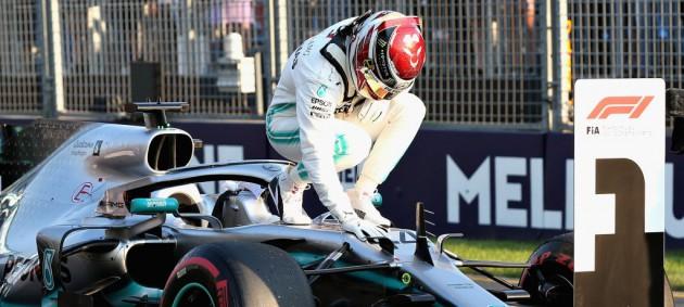 Гран-при Австралии: Хэмилтон выиграл поул-позишн
