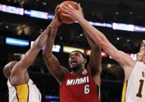 NBA: Майами обыгрывает Лейкерс
