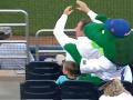 Талисман бейсбольного клуба спас ребенка от удара мячом