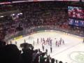 Сбежали: Российские хоккеисты ушли со льда до канадского гимна