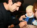 Луиш Фигу подарил украинским детям радость