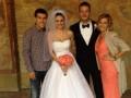 Защитник Днепра отгулял свадьбу в Праге (ФОТО)