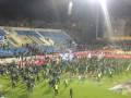 В Португалии прервали матч из-за угрозы разрушения трибуны