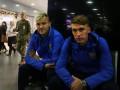 Сборная Украины вылетела в Турцию на матч отбора ЧМ-2018