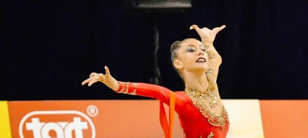 Украинская гимнастка Мелещук завоевала серебро на Кубке мира в Португалии