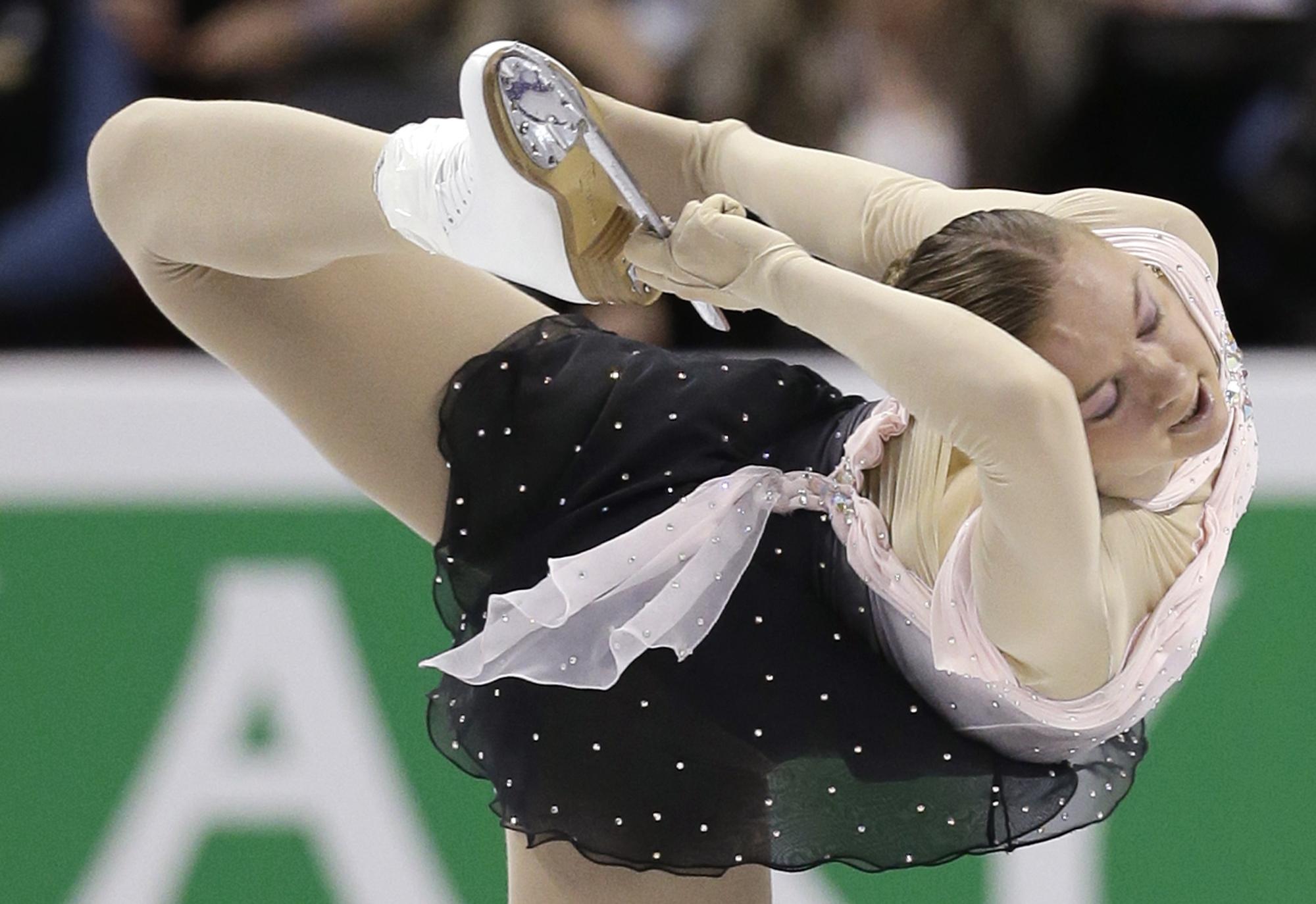 Наталья Попова заняла 17-е место в короткой программе