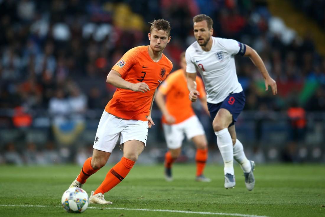 Нидерланды - Англия: видео голов