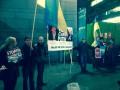 В Стокгольме перед матчем России устроили митинг против политики Путина