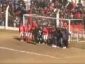 Игрок Ювентуса перебросил стенку из 20 человек и шикарно положил мяч под перекладину