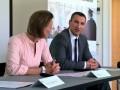 Владимир Кличко провел лекцию в швейцарском университете
