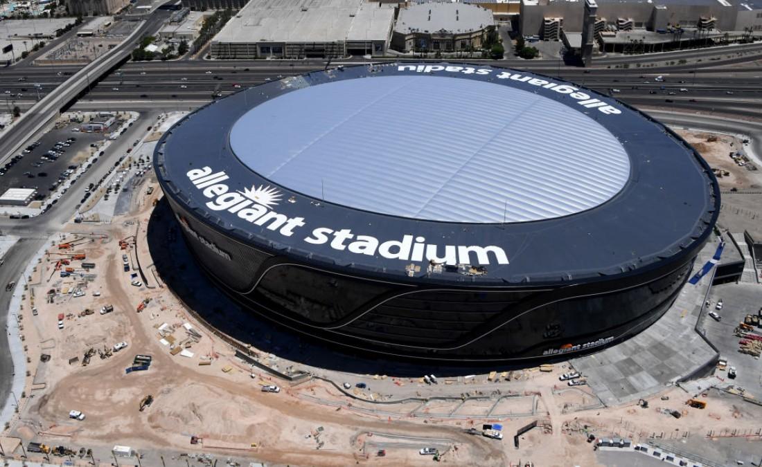Арена Allegiant Stadium - новый домашний стадион Лас-Вегас Рэйдерс