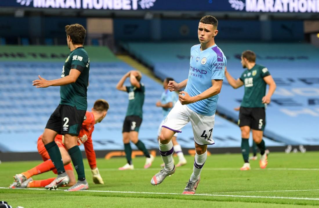 Манчестер Сити - Бернли: видео голов и обзор матча